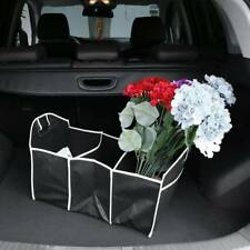 Car Convenient Rear Racks Collapsible Folding Flat Trunk Organizer For Car Truck