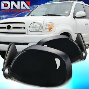 FOR 2000-2006 TOYOTA TUNDRA PAIR OE STYLE POWER+HEATED DOOR MIRROR REPLACEMENT