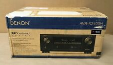 Denon 7.2 Channel IN-Command Receiver w/ Wi-Fi, Dolby, Atmos, HEOS, AVR-X2400H