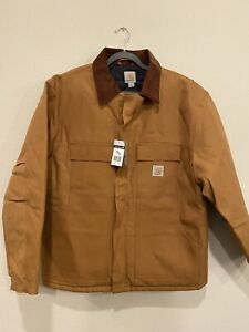 Men's Carhartt Duck Traditional Winter Jacket - C003 Sz XL Regular New