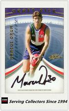 2006 Select AFL Supreme Draft Pick Signature Card DP10 Marcus Drum (Fremantle)