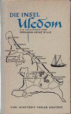 Die Insel Usedom - ein Heimatbuch von Hermann Heinz Wille, 1955
