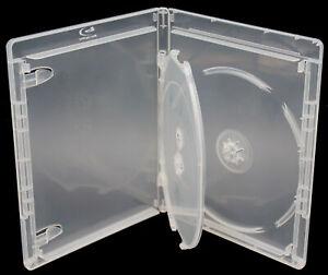 New Viva Elite Clear Bluray 12.5mm 3-Disc Premium Replacement Movie Storage Case