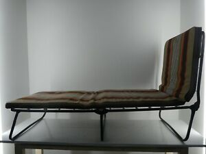 Vintage Presidea Holland Sun Lounger Chair Bed Beach Camping VW Campervan J25