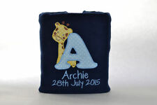 Boys' Fleece Personalised Nursery Blankets & Throws