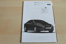 98114) Ford Mondeo - Black Magic - Preise & Extras - Prospekt 02/2010
