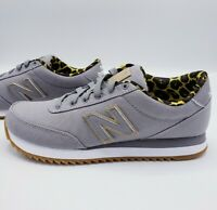 New Balance 501 Shoes Grey Animal Print Women's Size 6.5