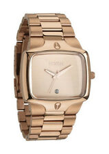 Nixon Player Quartz Rose /gold Dial Men's Watch A140-897