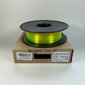 GEEETECH TPU Filament 1.75mm, Flexible TPU Consumables for 3D Printer, Dimension