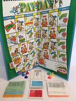 Parker Brothers Payday Board Game 1994 Finance Banking Loans Money Bills Mail 8+