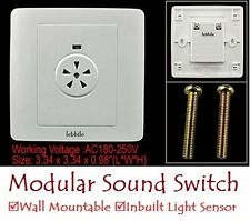 E95 Modular Wall Mountable Sound Activated Switch for 220V AC with Light Sensor