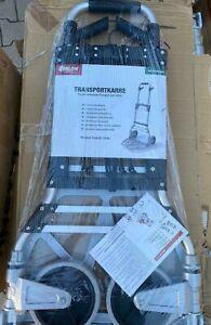 ATHLON TOOLS Schwerlast-Sackkarre Aluminium klappbar max. 150 kg - NEU inkl.Mwst