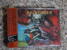 IRON MAIDEN VIRTUAL XI LTD RARE OOP JAPAN 2CD