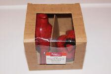 New Better Homes & Gardens Christmas Red Bird Cardinal Salt & Pepper Shakers BCR