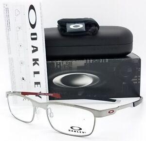 NEW Oakley Steel Plate RX Prescription Frame Gunmetal OX3222-0752 52mm AUTHENTIC