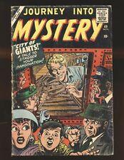 Journey Into Mystery # 49 - Matt Fox & Check art Good Cond.