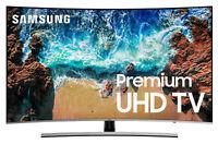 "Samsung 8 SERIES UN65NU8500 65"" 4K UHD LED Smart TV PLEASE READ FULL DESCRIPTION"