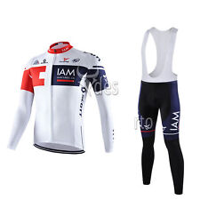 V1-80 New Thermal Fleece man long sleeve jersey cycling jersey set Bib pants