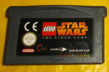 LEGO STAR WARS 1 Game Boy Advance Gba Vers Europea SOLO CARTUCCIA - CU