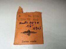 Lecoultre  ,axe , Balance Staff , Montre Auto 16'' H 90,5