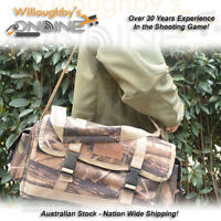 Camo Range Bag Hold Rounds Cleaning Gear Shot Shells Ammo Brass