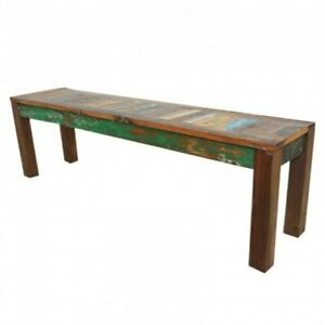 Nirvana Reclaimed Timber Boat wood Dining Bench INDIAN HANDMADE FURNITURE