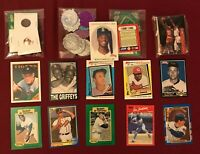 Junk Drawer Lot Collectibles, Ken Griffey Jr, Mickey Mantle, Misc #12/4