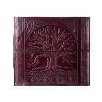 Tree Of Life Embossed Leather Photo Album, 30 pages for 120 6x4 or 60 7x5 Photos