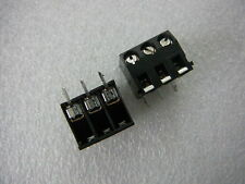 AMP 786469-3 Fixed Terminal Block CONNECTOR 5.08 R/A 3-Pin Board Mount NEW Qty.2