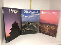 Lot de 3 livres éditions Harrap : HONGKONG / SHANGHAI / PEKIN - YY-13941