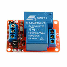 New 5V 30A 1-Channel Relay Module+Optocoupler H/L Level Triger for Arduino TO
