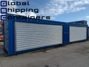 40ft x 8ft New Roller Shutter Shipping Container