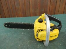 """Vintage  McCULLOCH MINI MAC 1 AUTOMATIC Chainsaw Chain Saw with 12"""" Bar"""