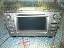 2012 2013 2014 Toyota Prius CD RECEIVER Radio HD XM, NAVIGATION GPS OEM