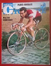 1969 miroir du cyclisme n°113 PARIS ROUBAIX GODEFROOT TOUR DES FLANDRES MERCKX