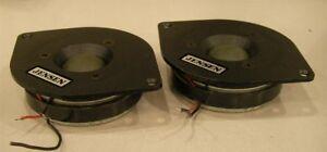 Jensen series II (usa) coppia di  tweeter per vari tipi di diffusori ***Perfetti