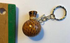 Hawaiian Ipu Wooden Key Chain Jewelry Hawaii Hula Dance Implement Gifts Aloha N