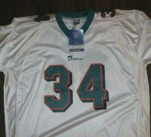 NWT Ricky Williams Miami Dolphins Jersey SIZE XXL Players Inc. Reebok
