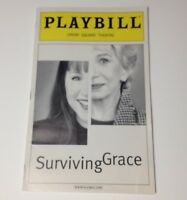 Playbill Surviving Grace 2002 Union Square Theatre NYC Broadway Theater