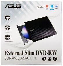 ASUS External Slim USB DVD/CD Burner/Writer/Reader Ext for PC,Laptop,Notebook