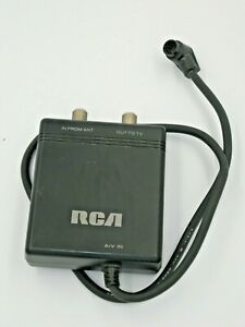 RCA CRF020 RF Modulator for CPR150 Small Wonder Camcorder Coax Converter Adapter