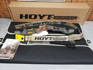 "Hoyt Satori Recurve 17"" Storm (New Color)Riser LH 50# RealTree Edge Limbs"