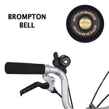 For BROMPTON Bell Steel Copper Custom Accessories Brompton BLACK