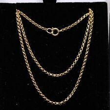 Nice 9ct Yellow Gold Belcher Chain 16''