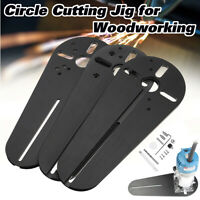 Circle Cutting Jig Fit For Electric Trimmer / Router Woodworking Milling Groove