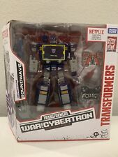 Transformers War for Cybertron WFC Netflix Soundwave Walmart Exclusive