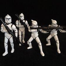 Star Wars Clone Troopers 4x Action Figures Toy Job Lot Bundle