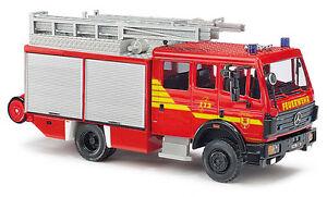 Busch 43816, Mercedes Benz Mk 94 » Fire Brigade Warendorf«, H0 Car Model 1:87