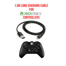 1.3M Long Play&Charge Cable Charging Cable Cord For Xbox One S Controllers Pads