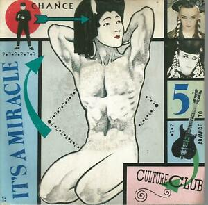 45 TOURS.  2 TITRES/  CULTURE CLUB   IT  S  A MIRACLE         A
